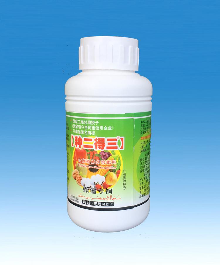 漯效王含腐植酸水溶肥料500ml(新疆专销)